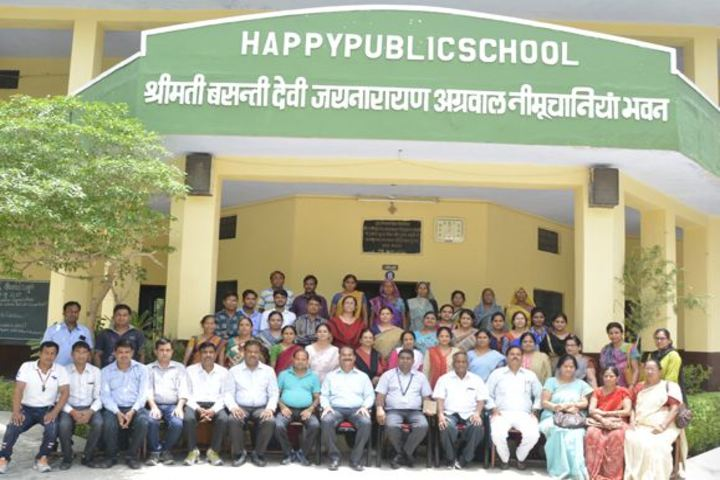 Happy Public School-Staff