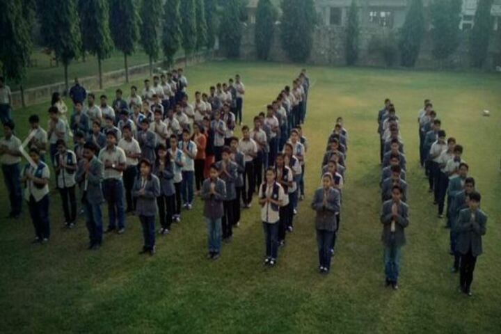 India Overseas School-Assembly
