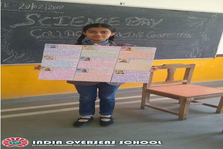 India Overseas School-Science day