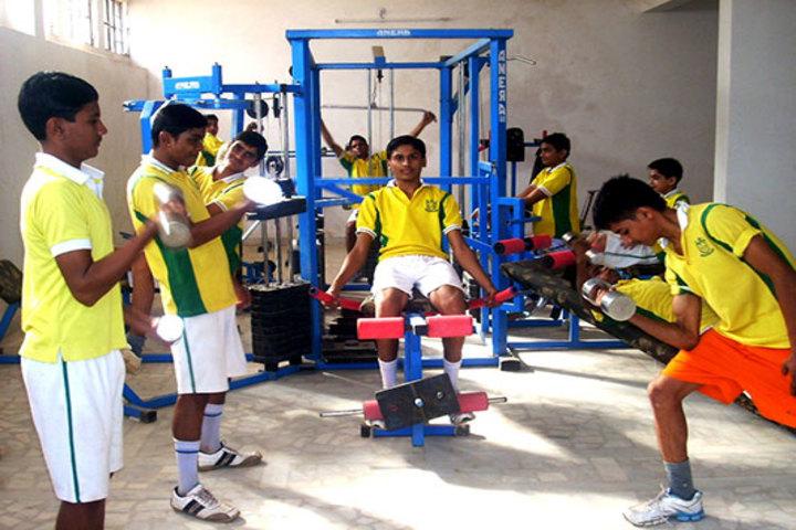 Indo American Public School-Gymnasium