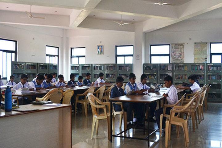 Indo American Public School-Library