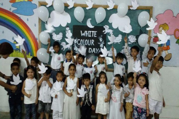 Indo Bharat International School-White Colour Day