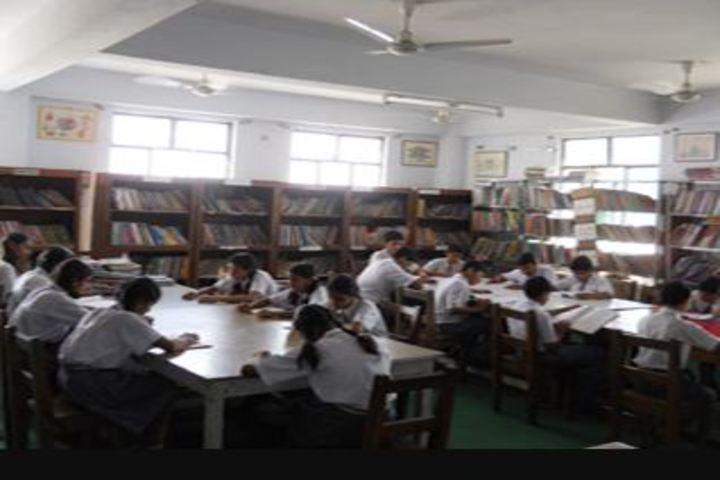Indo Bharat International School-Library