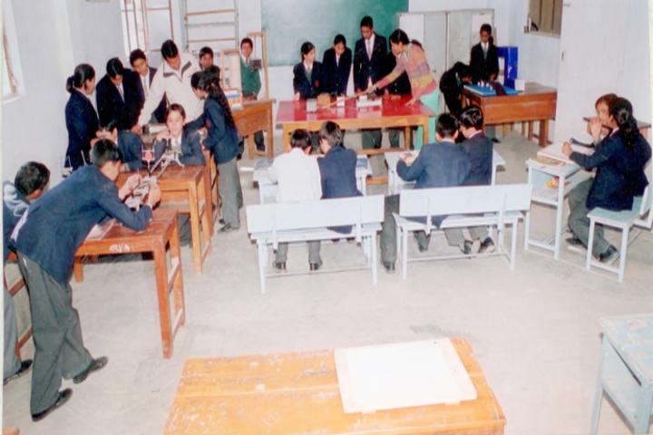 Indo Bharat International School-Physics lab