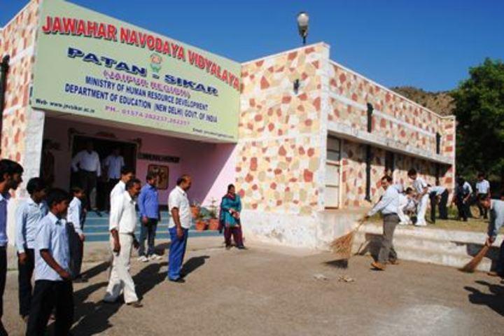 Jawahar Navodaya Vidyalaya-Swacch Bharat