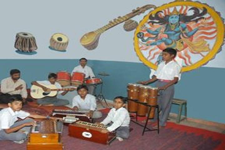 Jawahar Navodaya Vidyalaya-Music class