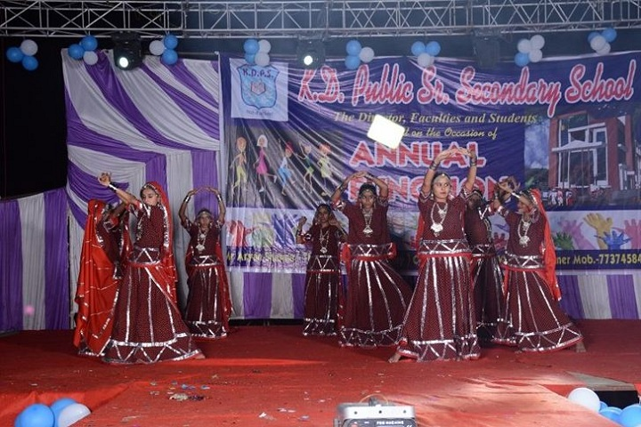 K D Public Senior Secondary School-Annual day