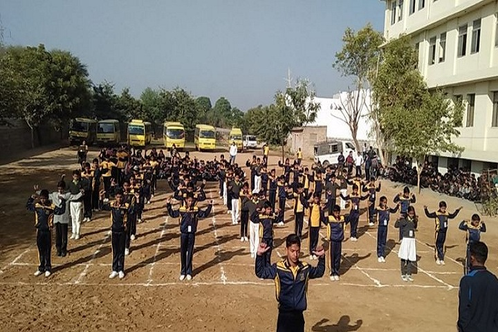 K D Public Senior Secondary School-Assembly