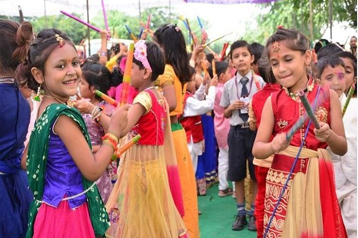K D Public Senior Secondary School-Festival Celebration