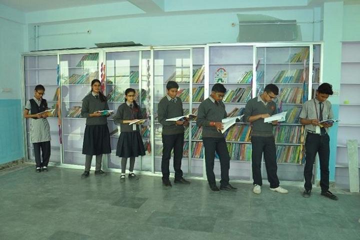 K D Public Senior Secondary School-Library