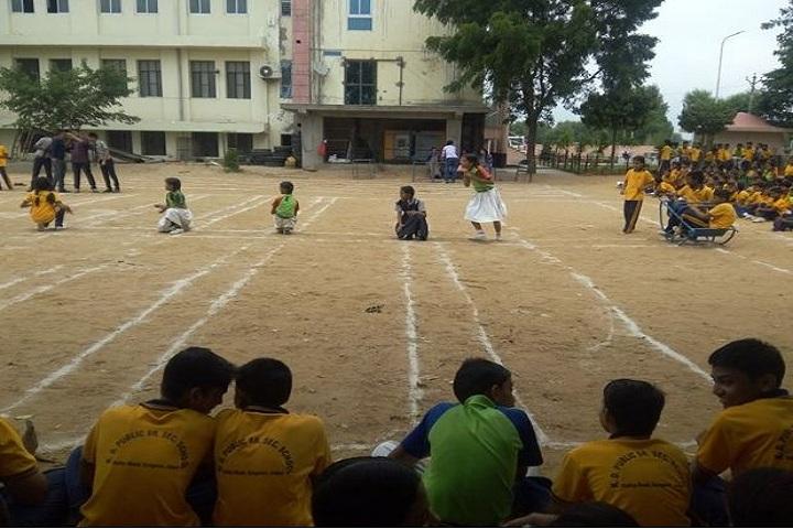 K D Public Senior Secondary School-Sports