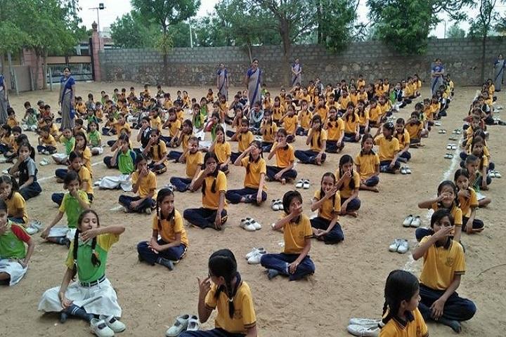 K D Public Senior Secondary School-Yoga