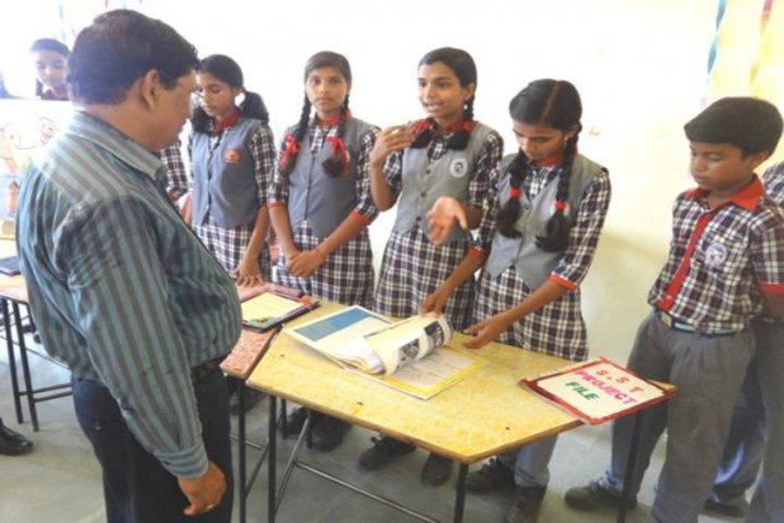 Kendriya Vidyalaya-Science and Social Exbhition