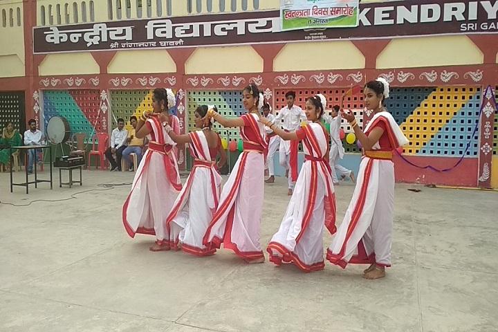 Kendriya Vidyalaya-Cultural Dance