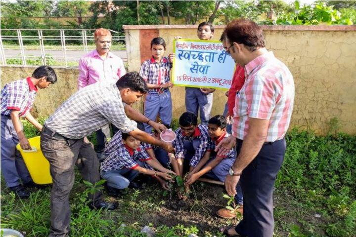 Kendriya Vidyalaya-Planting Program
