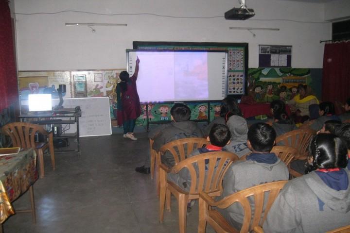 Kendriya Vidyalaya No 2-Smar Classroom