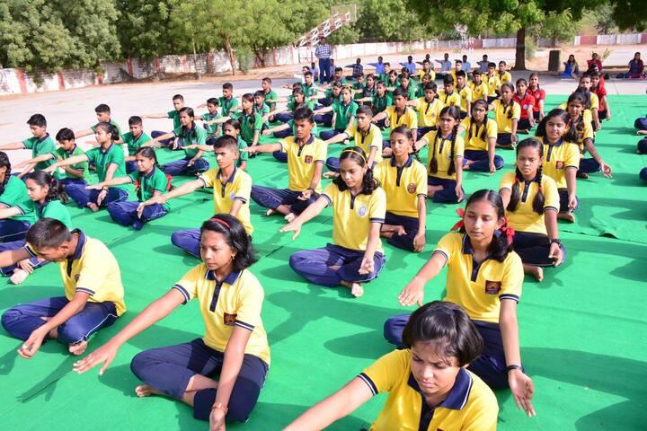 Kendriya Vidyalaya No 2-Yoga Activity