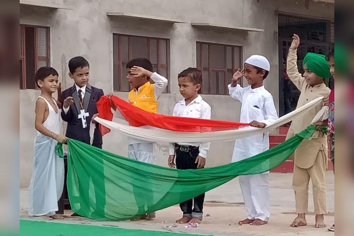Krishna Public School-Fancy Dress - Independance Day