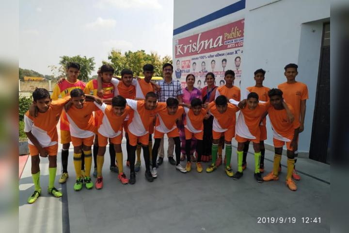 Krishna Public School-Sport Day Activity 2