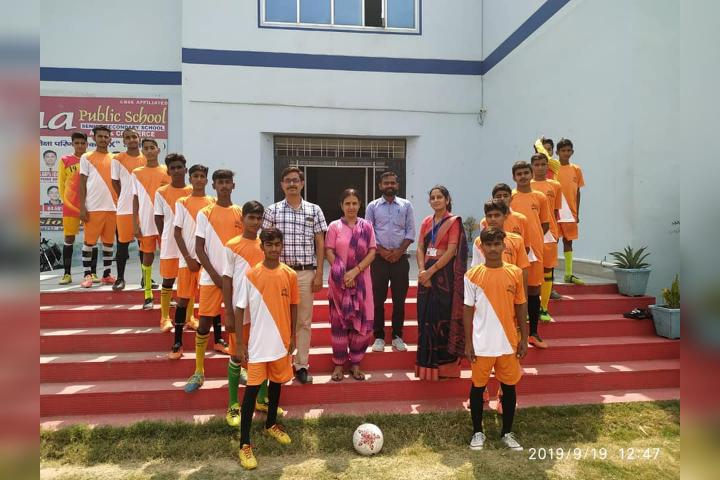 Krishna Public School-Sport Day Activity