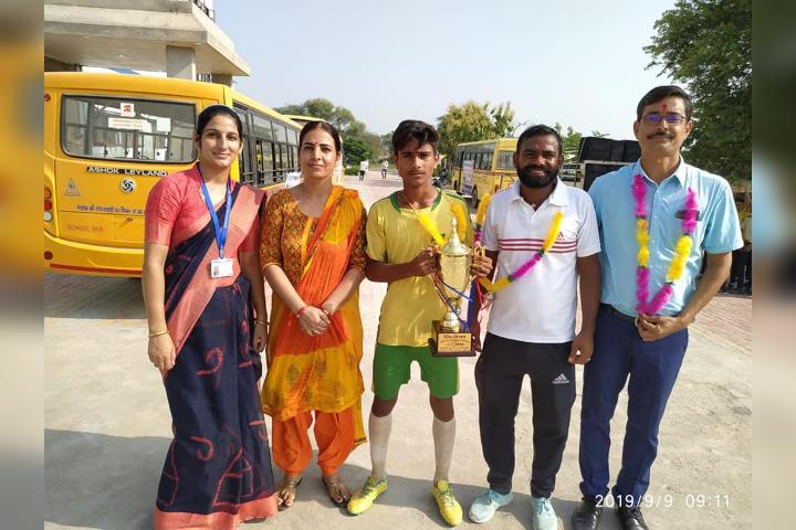 Krishna Public School-Winner in Sport Activity