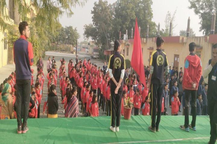 Lady Anusuya Singhania Educational Academy-Assembly Ground