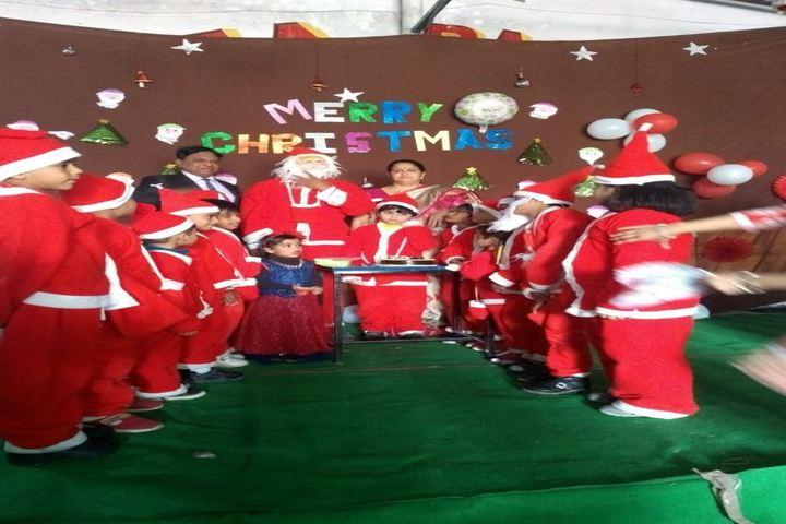 Lady Anusuya Singhania Educational Academy-Christmas