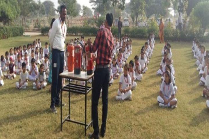 Lakshmipat Singhania Academy-Fire Drill
