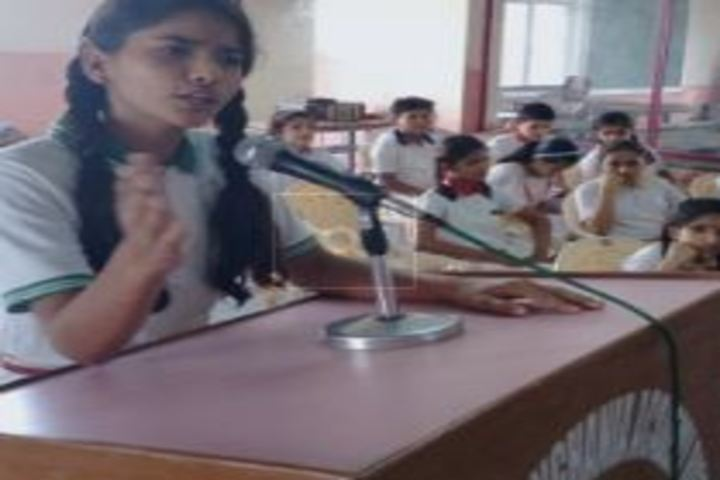 Lakshmipat Singhania Academy-Speech