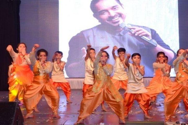 Lakshmipat Singhania School-Dance