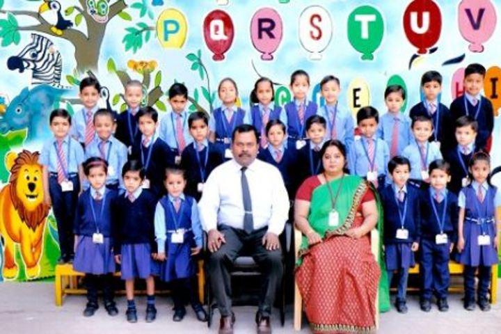 Lakshmipat Singhania School-Kids