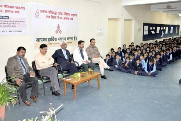 Lakshmipat Singhania School-Meeting