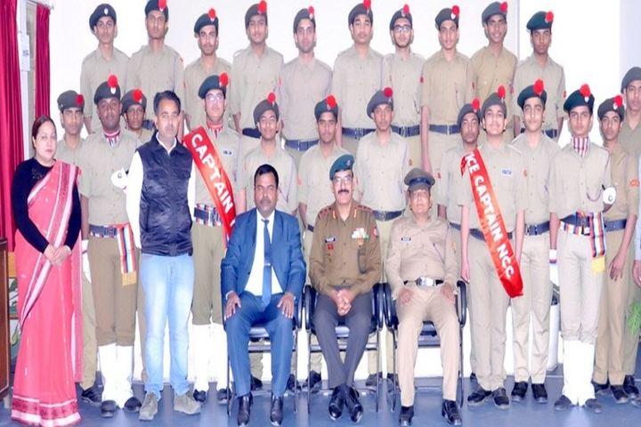 Lakshmipat Singhania School-NCC