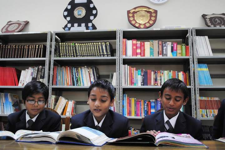 Lala Kamlapat Singhania Education Centre-Library
