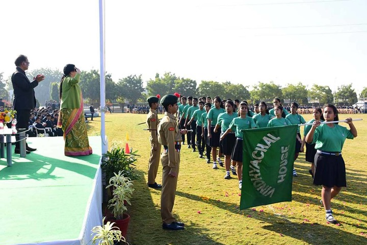 Lala Kamlapat Singhania Education Centre-Republic Day