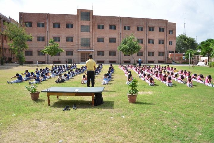 Laxmi Devi Mundra Public School-Yoga Activity
