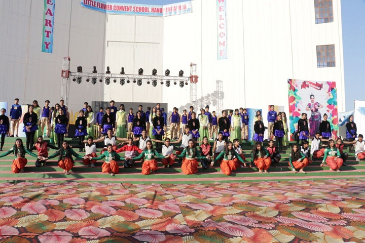 Little Flower Convent School-Annual function