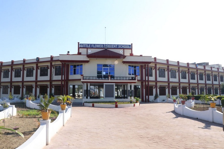 Little Flower Convent School-School building