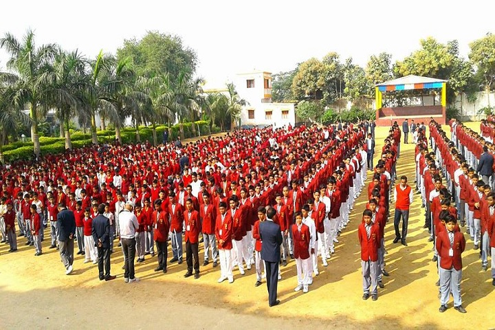 Lord Buddha Public School-Assembly
