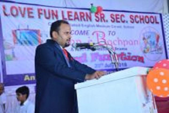 Love Fun Learn School-Speech