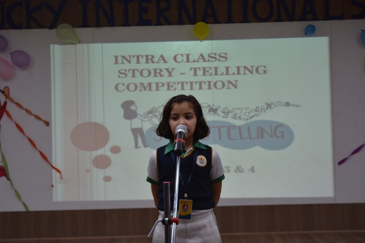 Lucky International School-Story telling competition