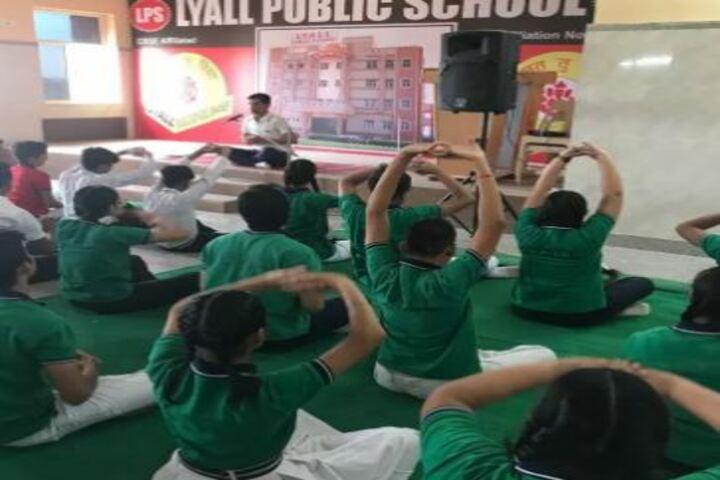 Lyall Public School-Yoga