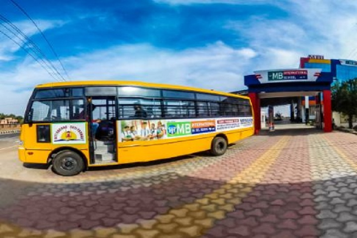 M B International School- Bus