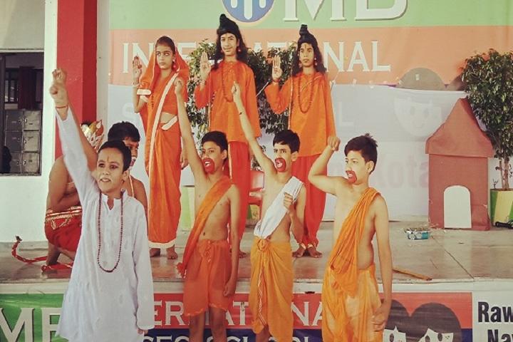 M B International School- Drama
