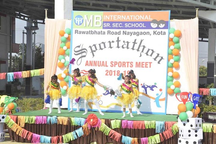 M B International School-Dances