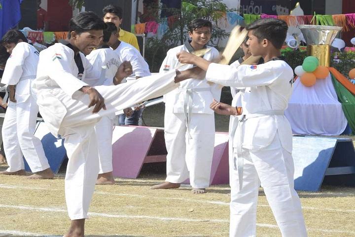 M B International School-Karate