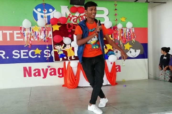 M B International School-Singing