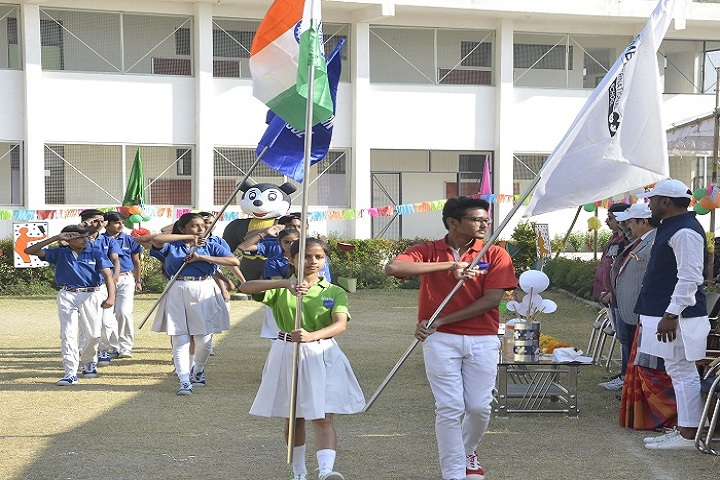 M B International School-Sports day