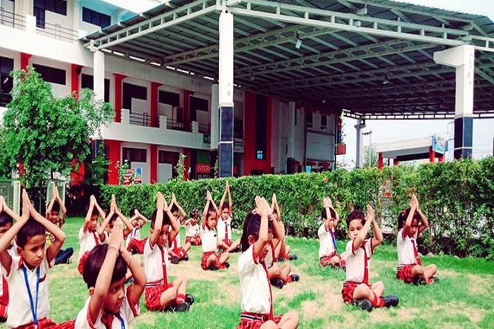 M B International School-Yoga