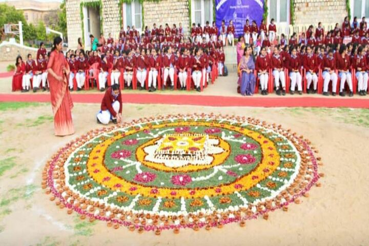 M G D Girls School-Ceremony